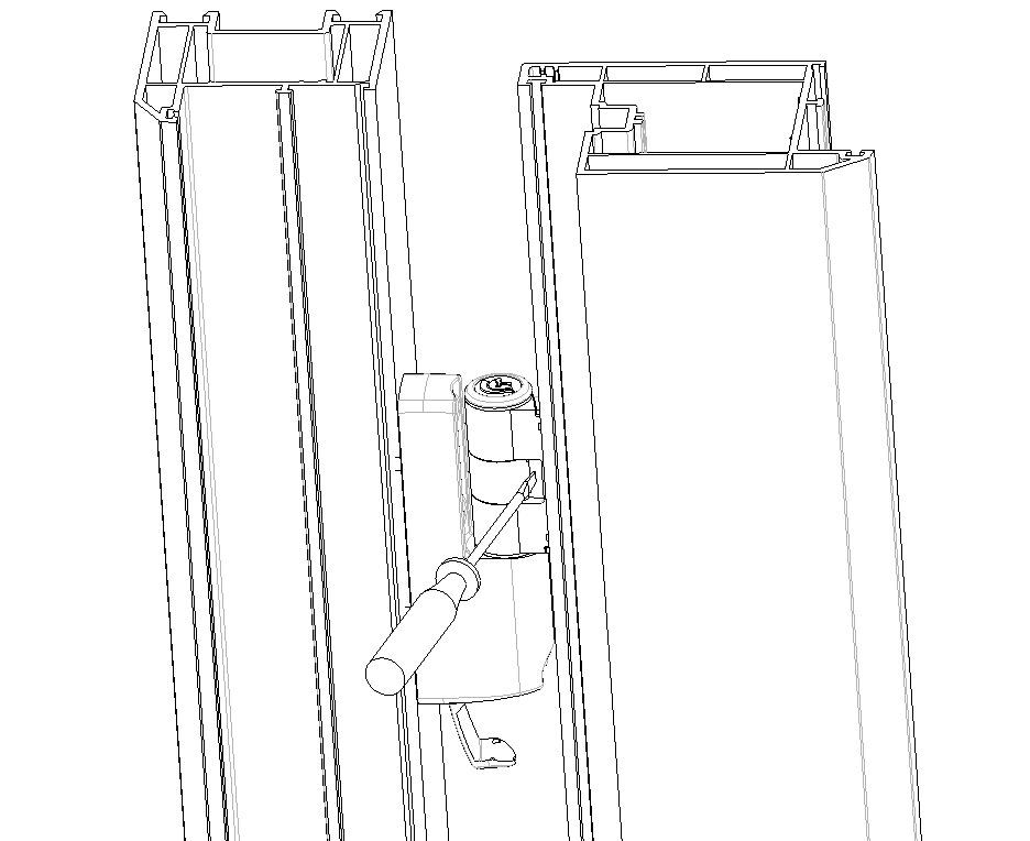 Upvc Door Adjustment